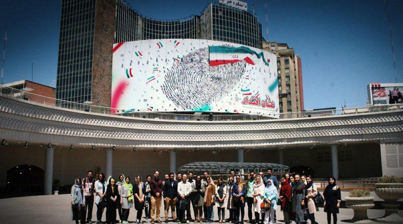 گزارش بازدید گروهی از پروژه ایوان انتظار در میدان ولیعصر تهران